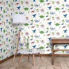 Dinosaur Wallpaper Dino Doodles Children's Kids Bedroom Animals Multi Arthouse