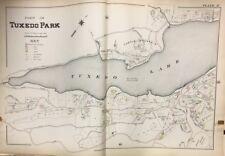 ORIGINAL 1903 ORANGE COUNTY NEW YORK TUXEDO LAKE TURTLE MOUNTAIN PLAT ATLAS MAP