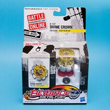 Hasbro BEYBLADE Metal Fury B-137 DIVINE CROWN TR145D Defense Top | NEW  Free S&H