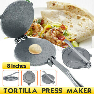 20cm Heavy Duty Tortilla Press Maker Restaurant  Flour Corn Maker Tool