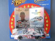 Kevin Harvick #29 Goodwrench 1:43 Scale w/Cards Winners Circle Double Platinum