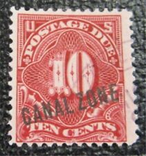 nystamps US Canal Zone Postage Due Stamp # J3 Used $40