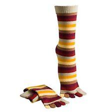 Ladies/Womens short multi coloured toe socks in size 4-7