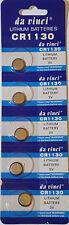 5 x 3V Lithium Batterie CR 1130 Knopfzelle CR1130