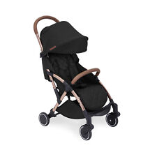 Ickle Bubba Globe Stroller in Black on Rose Gold – Pushchair Pram Buggy