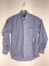 Burberry of London Men's Button Down Shirt Size S color blue L/S pre-owned