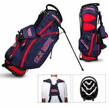 New Ole Miss University of Mississippi NCAA Collegiate Golf Stand Bag