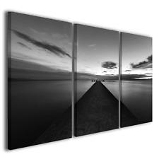 Quadri moderni Verso l'infinito bianco/nero stampe su tela canvas ® quality