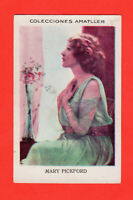 Mary Pickford Spaniish Chocolates Amatller Film Star Card  4