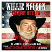 Wllie Nelson - Country Outlaw / 60 Great Country Tracks 3CD NEW/SEALED
