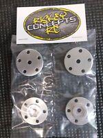 Tamiya Clodbuster Aluminum Wheel Hub Adapters Custom +2mm offset