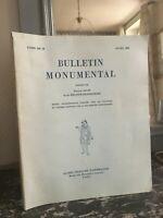 Boletín Monumental Tomo 141-II Año 1983 Société Française Arqueología Salet