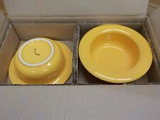 Dignity Ware Yellow Cereal Bowl, Set of 6
