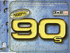 """KYLIE MINOGUE / CULTURE BEAT / MC HAMMER / 2 UNLIMTED I""""100% 90's"""" PROMO CD SING"""