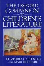 NEW - The Oxford Companion to Children's Literature