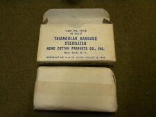 BANDAGE TRIANGULAR US MEDIC MEDICAL FIRST AID WWII WW2 JEEP ECHARPE