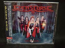 EDEN'S CURSE Cardinal + 1 JAPAN CD Power Quest Dragonforce Alogia Cry Havoc