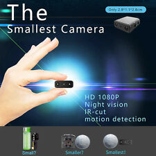 Mini 1080P HD Camera Camcorder Micro Infrared Night Vision Motion Detection
