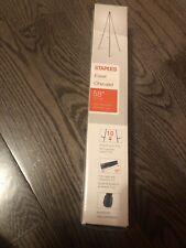 """Staples® Instant Display Easel, Black Frame 58"""" *Brand New*"""