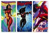 SPIDER-WOMAN #1 - MARVEL COMICS - 3/18/2020 - NEW SERIES! 3 BOOK SET!