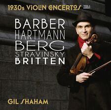 Gil Shaham - 1930s Violin Concertos 1 [New CD]