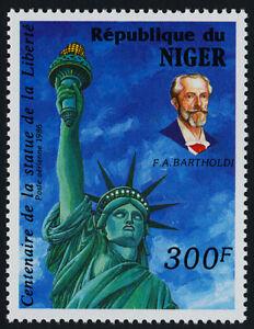 Niger C372 MNH Statue of Liberty, Bartholdi