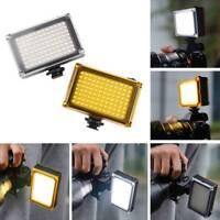 96 LED Video Light Lamp +Filters for Canon Nikon DSLR SLR Camera