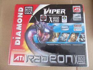 DIAMOND VIPER ATI RADEON X 1650 PRO PCI EXPRESS 256MB GRAPHICS CARD NEW SEALED