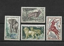Complete set 4 new stamps ** French Equatorial Africa 1957       (6141)