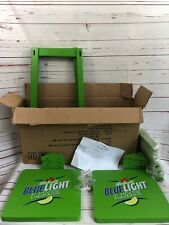 Lablatt Blue Lime Bar Stool/ Chair Promotional 2010 Set NEW Open Box