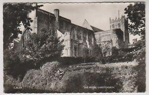 Dorset/Hants postcard - The Priory, Christchurch P/U (A899)