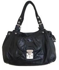 Roberta Gandolfi Purse Black Leather Slouchy Baguette Handbag