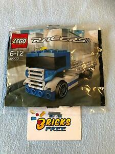 Lego Racers Tiny Turbos 30033 Racing Truck Polybag New/Sealed/Retired/Hard2Find