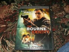 The Bourne Identity DVD Used.