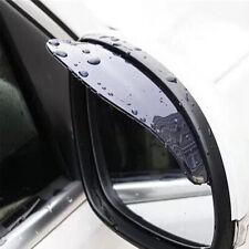 2x Universal Car Rear View Side Mirror Rain Board Sun Visor Shade Shield New