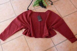 BORIS INDUSTRIES Sweat Shirt Fleece 46-54 EG NEU bordeaux kastig 90 cmLAGENLOOK