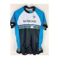 Women's Garneau Cycling Jersey, Backroads Tours, Short Sleeve,  XL