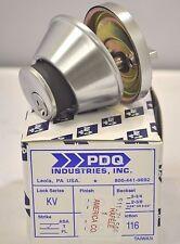 PDQ COMMERCIAL DEADBOLT KV-116 ENTRANCE SINGLE CYLINDER / THUMBTURN SCHLAGE 26D