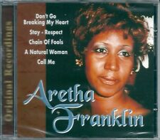 Aretha Franklin. Original Recordings (2000) CD NEW A natural woman. Without love