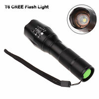 CREE XM-L T6 LED Flashlight Ultrafire Power 5 Mode Zoomable Zoom Torch 2600LM UK