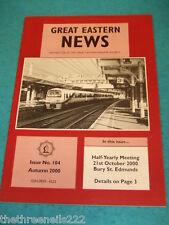 GREAT EASTERN NEWS #104 - AUTUMN 2000