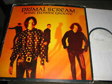 Primal Scream test pressing lp '87 sonic flower groove rare jesus and mary chain