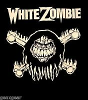 WHITE ZOMBIE cd lgo MONSTER BONES Official SHIRT SMALL New rob zombie