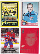 SCOTTY BOWMAN AUTO SIGNED 74-75 TOPPS RC ROOKIE MINT AUTO NM CARD SWEET!!
