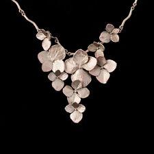 Hydrangea Necklace - Michael Michaud - Silver Seasons Jewelry - MadeInUSA