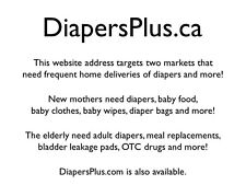 DiapersPlus.ca Domain For Sale