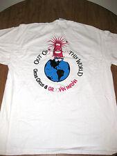GROOVIN MELVIN cartoon tee XL ESP Art circus T shirt Ned Peterson