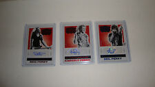 The Band Perry Panini Country Red Label  Autograph 3 Card Set Hard to Find Rare