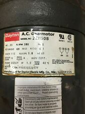 "Dayton Gearmotor 2Z850B ""Used"""