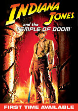 Indiana Jones Temple Doom Widescreen DVD with Slipcover English French Spanish